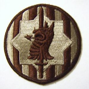 3rd INFANTRY DIVISION PATCH SSI U.S ARMY DESERT TAN COLOR FA12-1