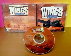WINGS-Midway-To-Hiroshima-CD-ROM-Tested-Complete-Mint-Disc