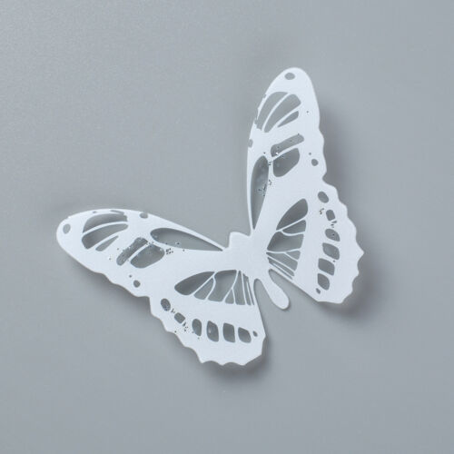18Pcs 3D Butterfly Sticker Art Wall Decal Home Decoration Room Decor White Black