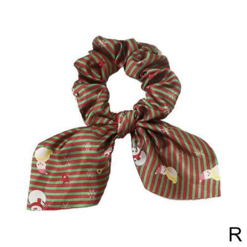 Weihnachtsband Pferdeschwanz Schal Haargummi Haargummis Elastisches