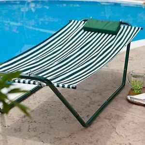 Indoor hammock bed with stand - Point Hammock Lounge Amp Stand Combination 640133g Hammock New Ebay