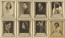 Lot of 16 - 1923 EDWARDS RINGER AND BIGG Cinema Stars Tobacco Cards - Film Stars