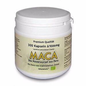 MACA-KAPSELN-BIO-300-Stk-a-1000mg-ORIGINAL-V-Kaps-aus-PERU-INKANATURA