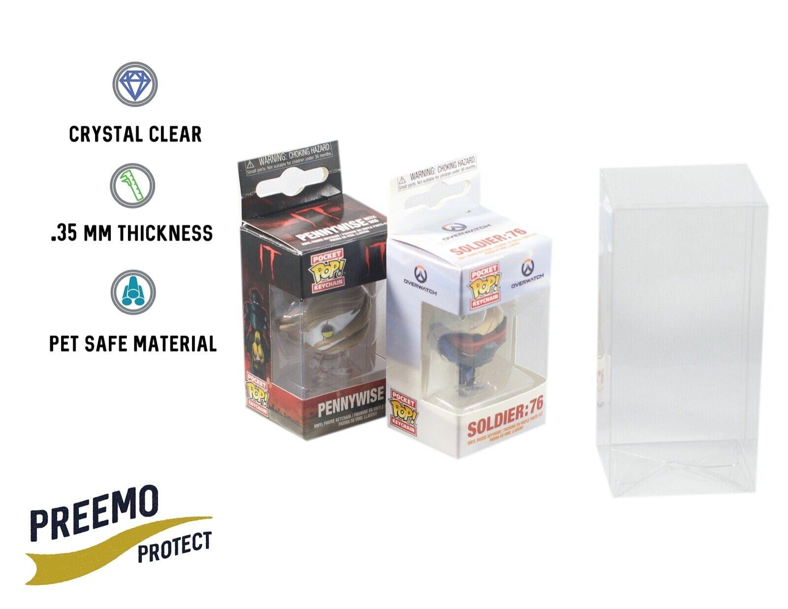 Vinyl Protector Case Acid Free PET Plastic Sealed 6 inch size 1 Funko Pop