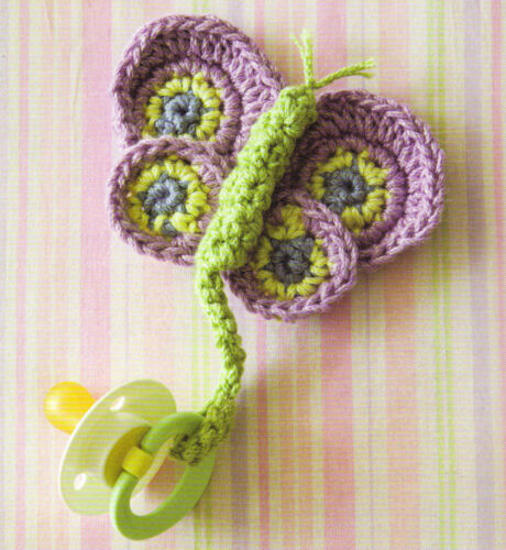 HANDY Baby Pacifier Holders//Clips//Crochet Pattern INSTRUCTIONS ONLY