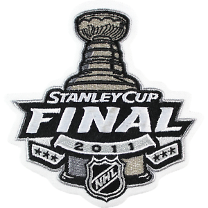 2011 NHL Stanley Cup Final Vancouver Canucks Jersey Patch Logo Boston Bruins