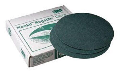 "3M 00515 Green Corps Hookit 6/"" 40E Grit Regalite Disc New 125 disc"