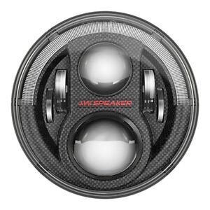 JW-Speaker-8700-Evolution-J2-7-034-LED-Headlight-Pair-Carbon-07-17-Jeep-Wrangler