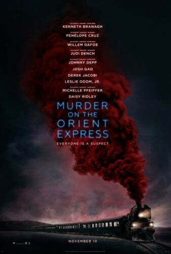 Cruz v1 24x36 Murder on the Orient Express Movie Poster - Kenneth Branagh