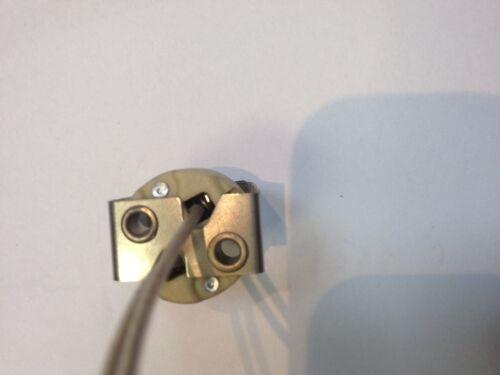 VOSSLOH SCHWABE HALOGEN FASSUNG G5,3 Spezial Mit Halteklammer Lampen Reparature