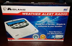 Midland WR-120 Clock Radio