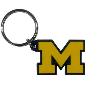 Michigan Wolverines Flex Keychain