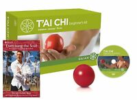 Gaiam Tai Chi Beginner's Kit Set With Dvd Ball Workouts Tai-chi Home Training