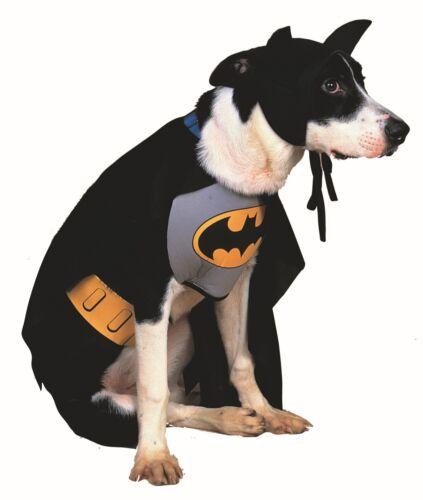 Classic Batman Pet Costumes Superhero Dog Cat Outfit