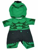Green Hulk Giant Super Hero Teddy Clothes Fits 15-16 (40cm) Build A Bear