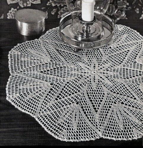 Vintage Crochet Centerpiece Doily #45 PATTERN ONLY