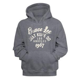 Bruce-Lee-Jeet-Kune-Do-Los-Angeles-1967-Gun-Metal-Heather-Adult-Pullover-Hoodie