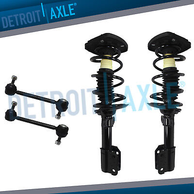 """Chevy Impala Monte Carlo Rear Complete Spring Shock /& Strut Assembly 16/"""" Wheel"""
