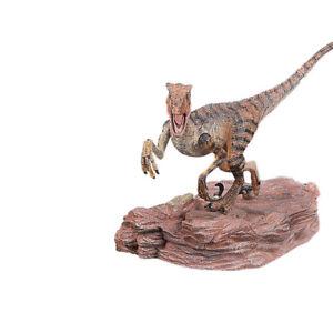 Velociraptor-Raptor-Action-Figure-Dinosaur-With-Base-Animal-Model-Toy-Collector