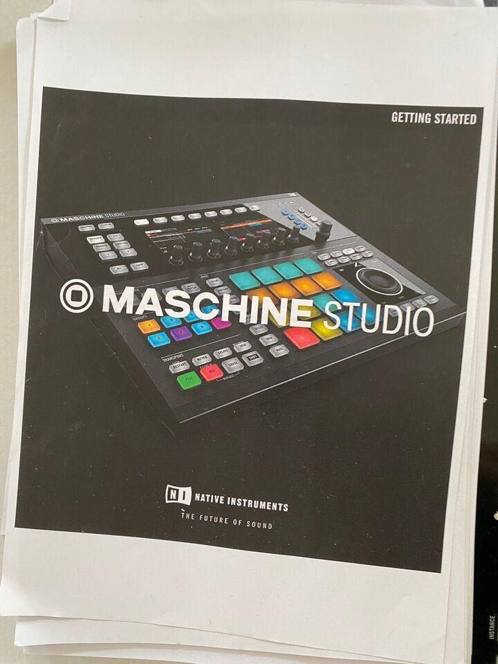 Elektronisk beat maskine, Maschine studio