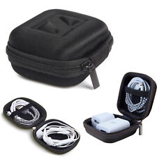 Headset Bag Headphone Earbud Carrying Storage Bag Pouch Hard Case For Earphone