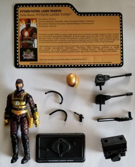 G.I. Joe Cobra Joe Con 2018 Python Patrol Lamprey complete