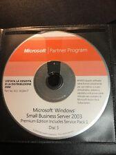Microsoft partner program Microsoft Windows Small Business server 2003