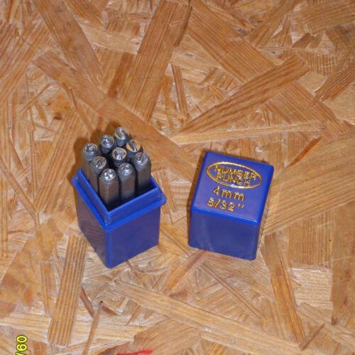 Geocaching geocache-Tool colpo numeri tipo taglio numeri 4 mm alta 0-9