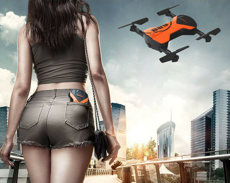 2.4G 4CH Altitude Hold HD Camera WIFI FPV RC Quadcopter Drone Selfie Foldable US