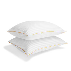 Italian-Collection-Dobby-Striped-Gel-Fiber-Pillow-2-Pack-by-ienjoy-Home