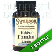 High Potency Pregnenolone 25mg 60 Caps Swanson Ultra