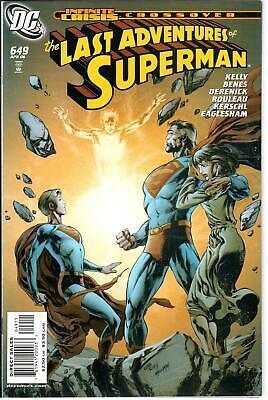 Superman #653 August 2006 DC NM 1987 Series 9.2