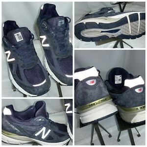 New-Balance-990-Sz-12-AA-Men-Blue-Suede-Leather-Running-Shoes-USA-YGI-G0S-28
