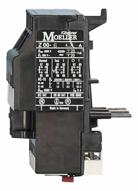 Moeller Z00-2,4 Motorschutzrelais 1,6-2,4A
