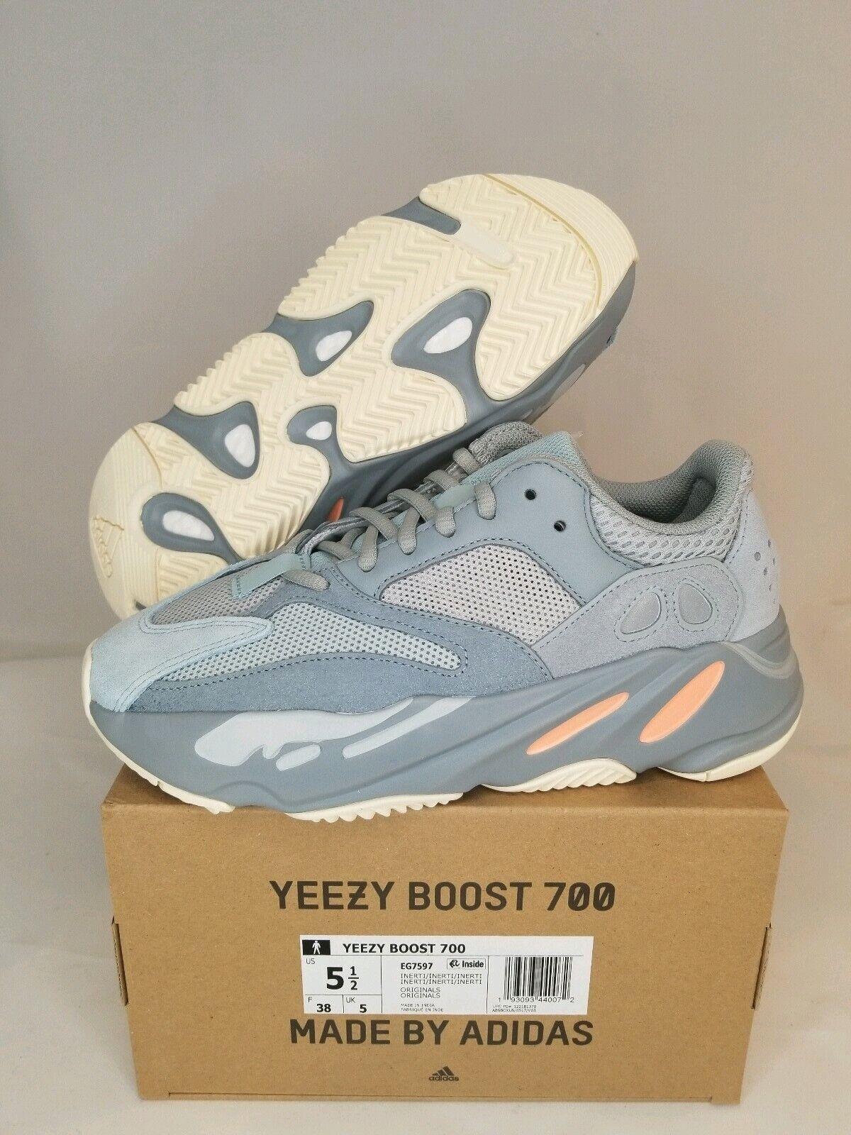 NEW ADIDAS YEEZY BOOST 700 INERTIA MEN'S Size 5.5EG7597 Kanye West