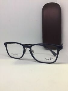 New Authentic Ray Ban RB 8953 8027 RB8953 Eyeglasses Frame 56mm blue ... 490cbe5bea0