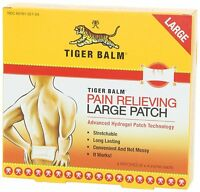 18 Pack Tiger Balm, Tiger Balm Patch 8x4 Inch Large Size, 4 Ct on sale