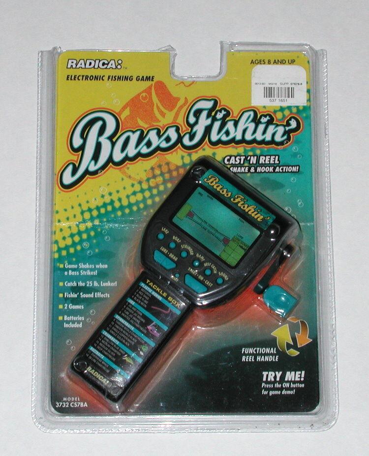 Radica Bass Fishin Model 3732 CS7BA NIOB OPEN