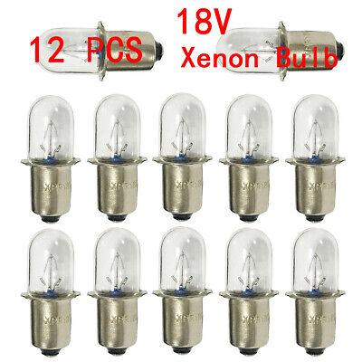 12 Pcs For DEWALT 18V Xenon Replacement Flashlight Bulb DW908 DW919 DC509 USA