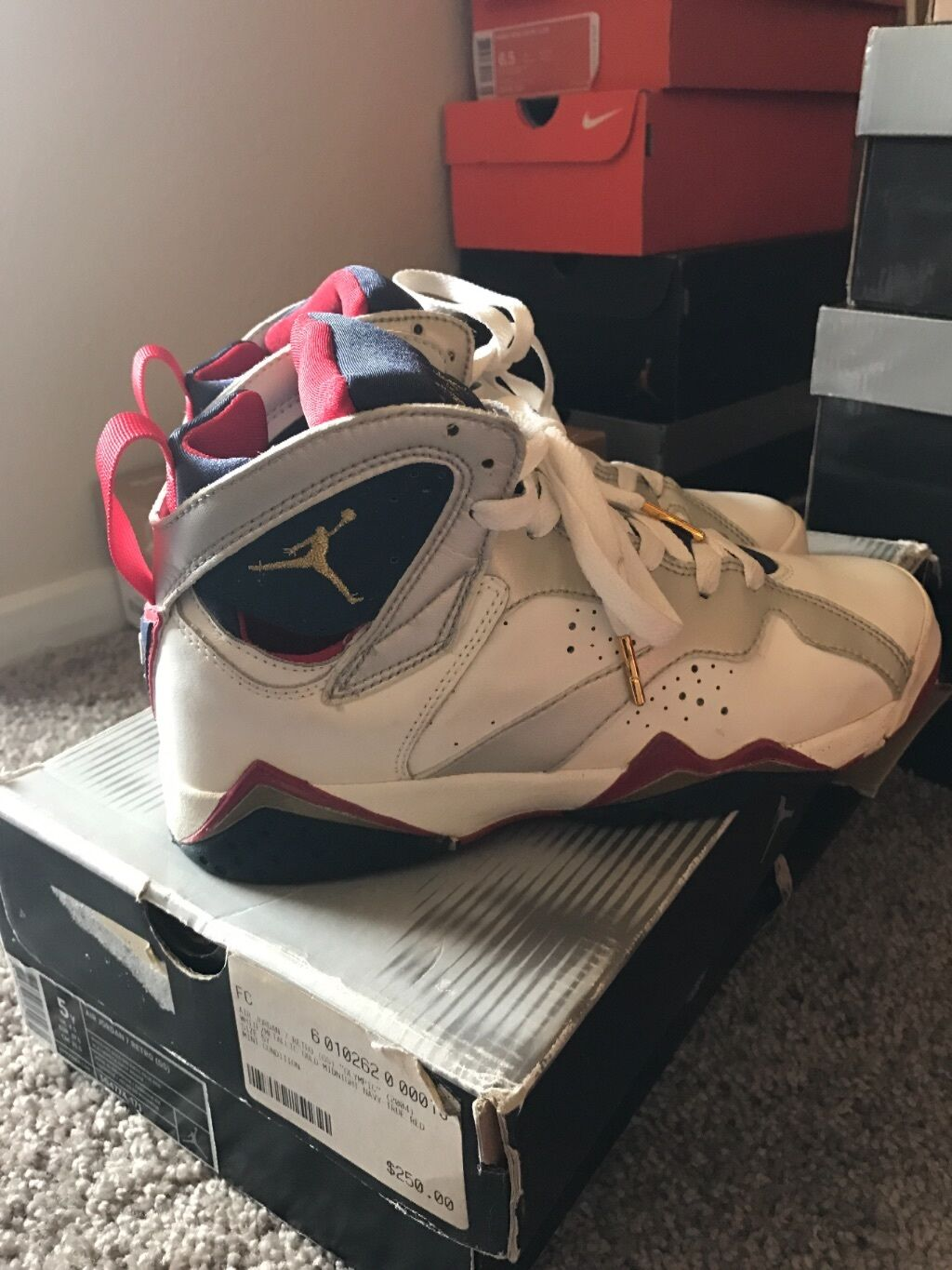 air jordan 7 olympic 2004 Price reduction best-selling model of the brand