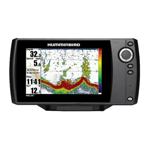 "Humminbird 409790-1 Helix 7 Fish Finder w/7"" 9-bit Color Display"