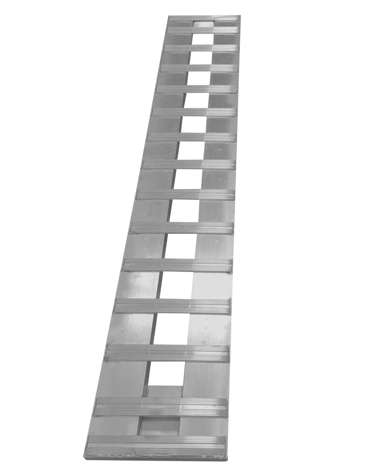 BestEquip Aluminum Ramps 10FT x 17.25 Inch ATV Ramps 800LBS Capacity Trucks Ramps Foldable Trailer Ramps with Attachment Hook and Serrated Rungs for Car Motorcycle Loading Equipment 1 Ramp