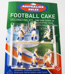 Football Cake Decorating Kit Blue Colour