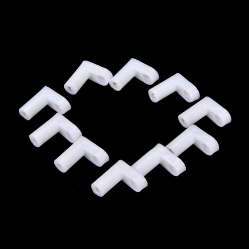 10//20//50pcs fixed plastic PCB mounting feet 20mm L type feet without Screws JE