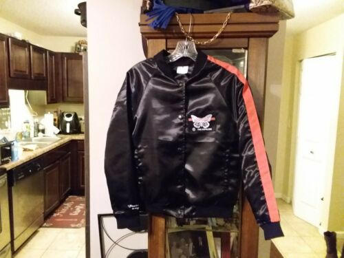 NWOT Halsey Hopeless Fountain Kingdom Butterfly Satin Jacket and Hoodie Sz Small
