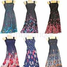 US SELLER wholesale dresses LOT of 6 new sundress sheer tube top dress