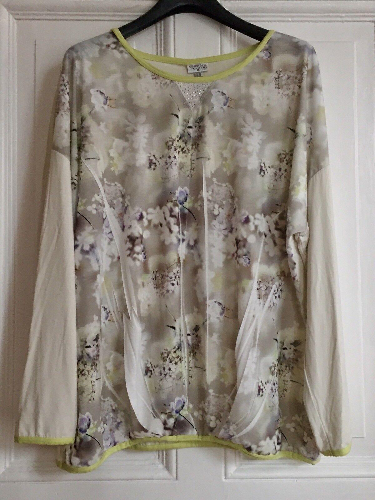 SPORTALM Damen T-Shirt Bluse  Cr.44/46 NEU