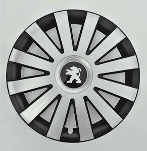 Set of 4x16 inch Wheel Trims to fit Peugeot 308 407 508 Partner Expert