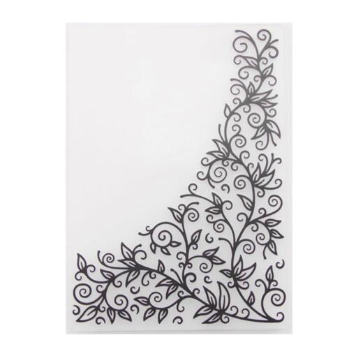 Plastic Embossing Folder Mold DIY Scrapbooking Fondant Stencil Paper Cards Craft