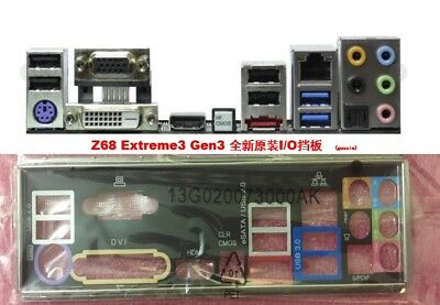 1PC OEM    I//O Shield for 970 Extreme3  970 Extreme3 R2.0